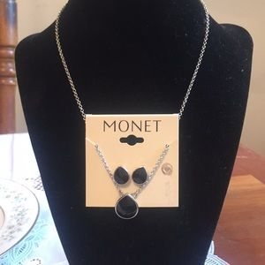 Monet Necklace and Earring Set